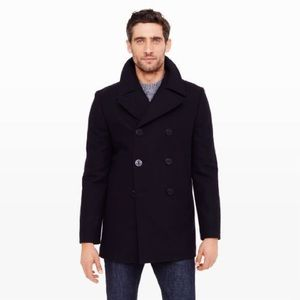 CLUB MONACO - Double Breasted peacoat Navy, SP CH